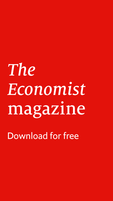 The Economist weekly UK issue