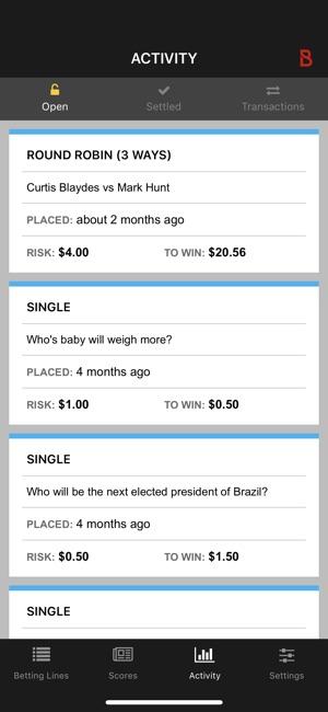 Bravado sports betting iphone app boyles betting