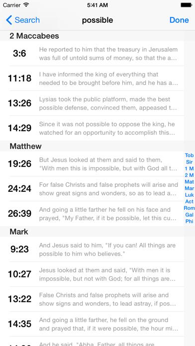VerseWise Bible RSV-CEのおすすめ画像5