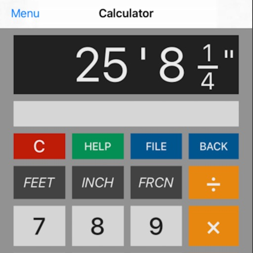 Construction Calculator - feet