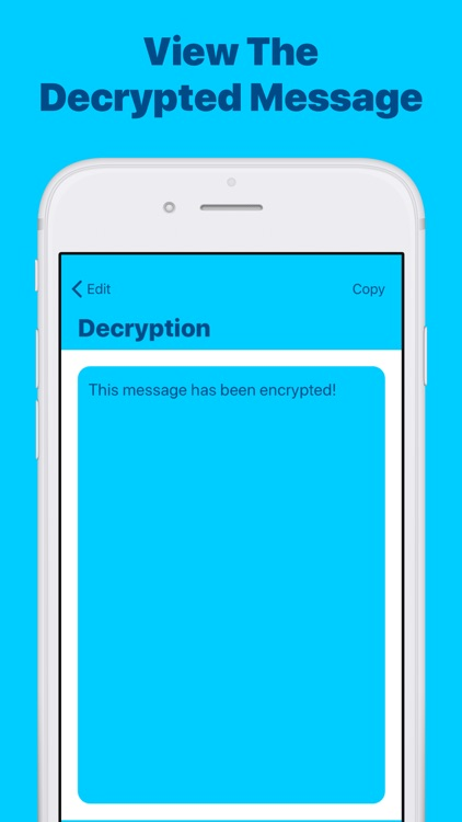 Cipher: Encrypt & Decrypt Text screenshot-3