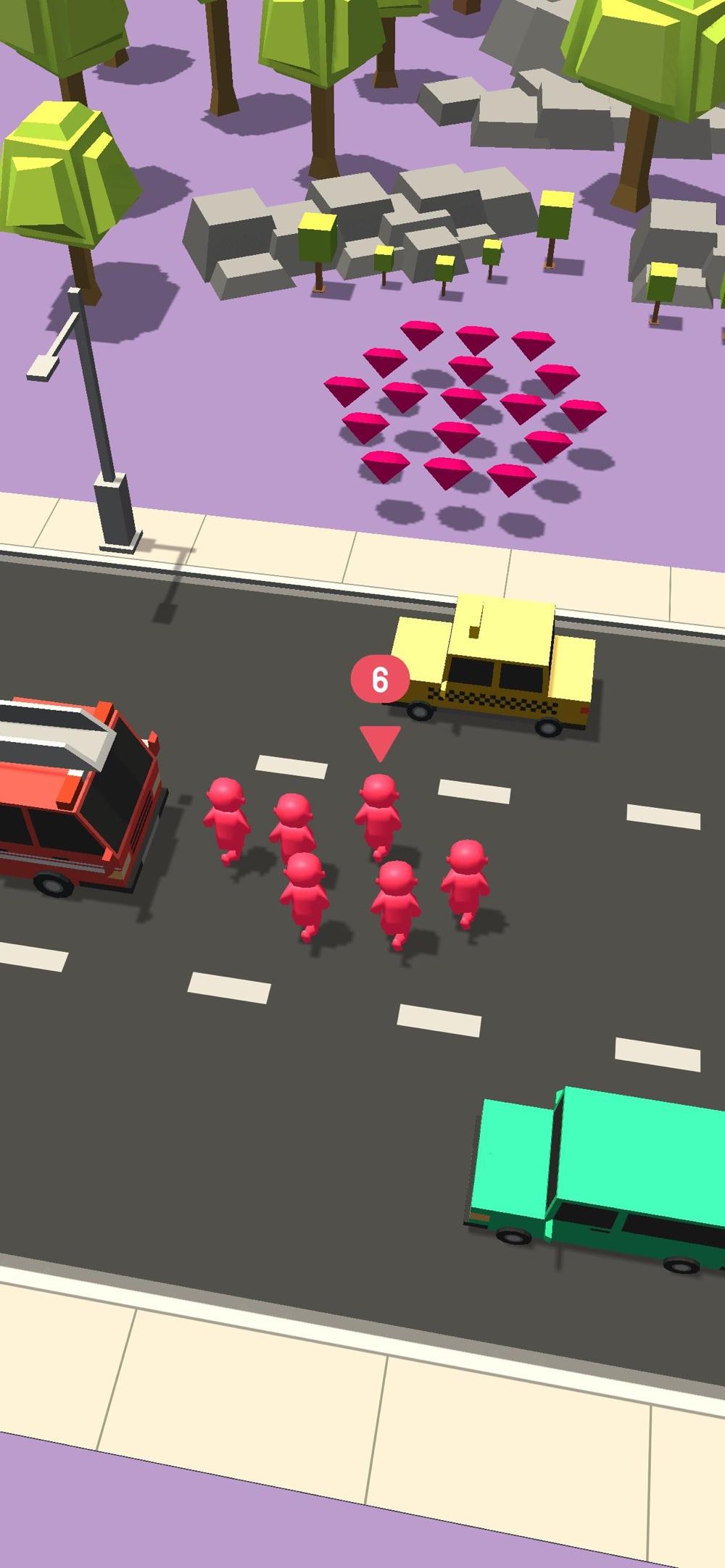 Crowd VS Traffic