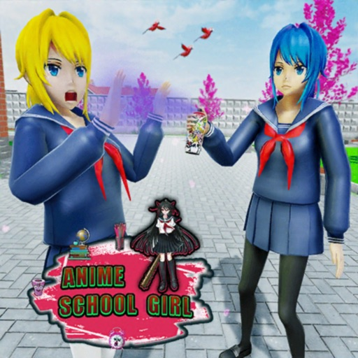 Anime High School Gangster 3D Icon