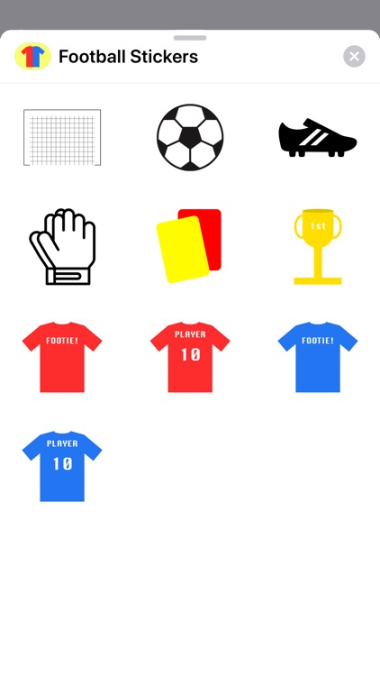 Football Stickers - Footie Fun