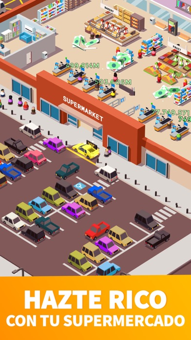 Screenshot for Idle Supermarket Tycoon - Shop in Peru App Store