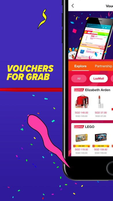 Screenshot for Lazada - #1 Online Shopping in Singapore App Store