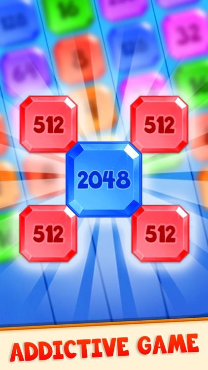 2048 Shoot N Merge - Shoot Up