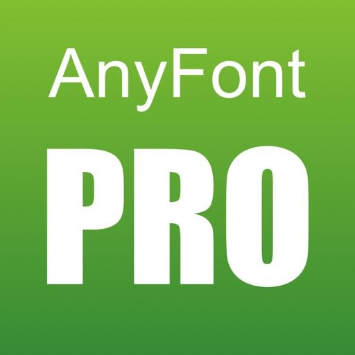 AnyFont PRO