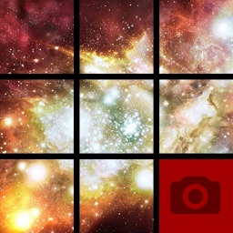 Picture Tile Slider In Space