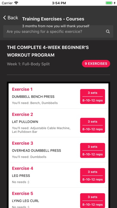 Screenshot for Training Exercises - Courses in Belgium App Store
