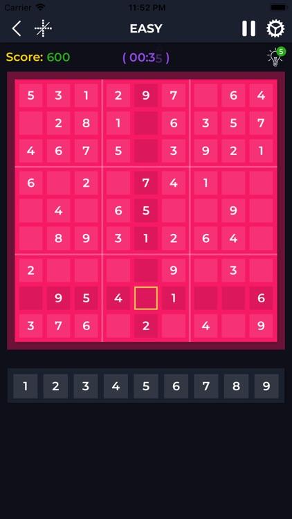 Sudoku Puzzle Number screenshot-3