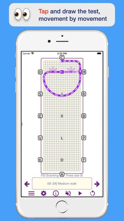 TestPro Dressage Test Sampler screenshot-4