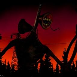 Siren Head and Dark Forest
