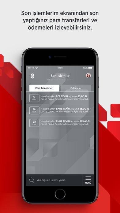 Screenshot for Ziraat Mobil in Turkey App Store