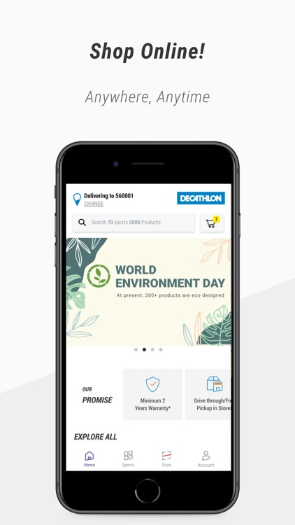 Decathlon Online Shopping App