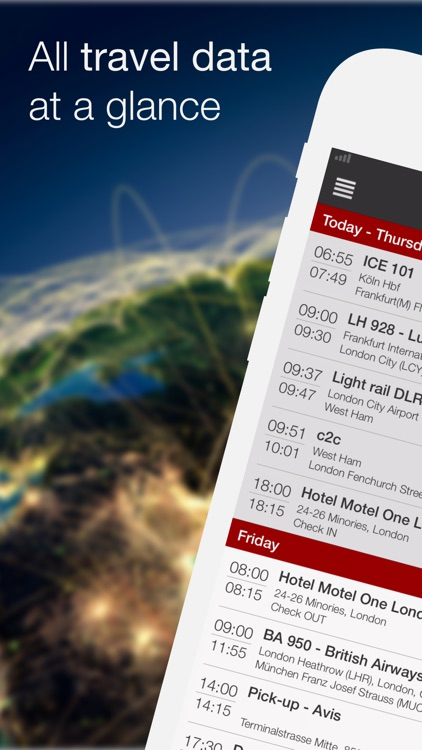 travelload itinerary manager screenshot-0