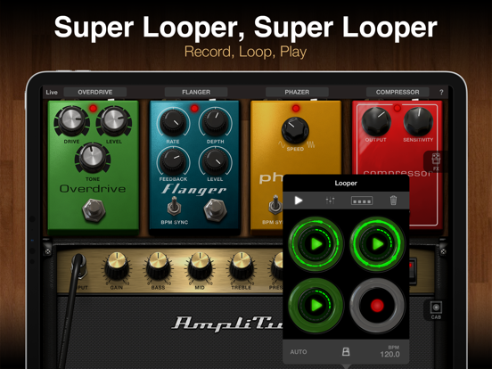AmpliTube for iPad Screenshots