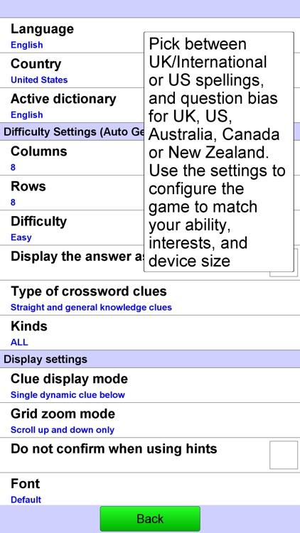Crossword screenshot-4