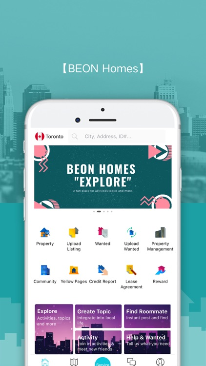 BEON Homes-Home Rental&Chat