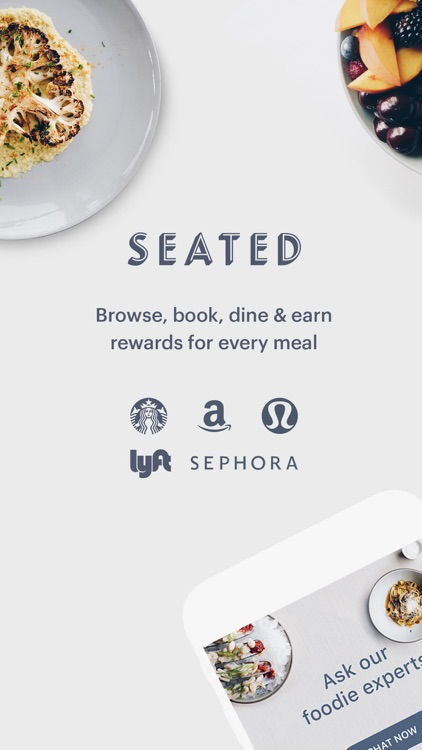 Seated: Cash Back For Foodies
