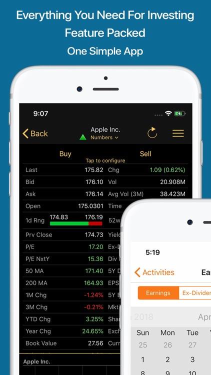 Stocks Live Pro Stock Market screenshot-4