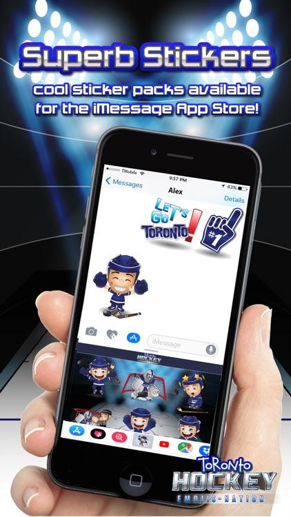 Toronto Hockey Emojis screenshot-3