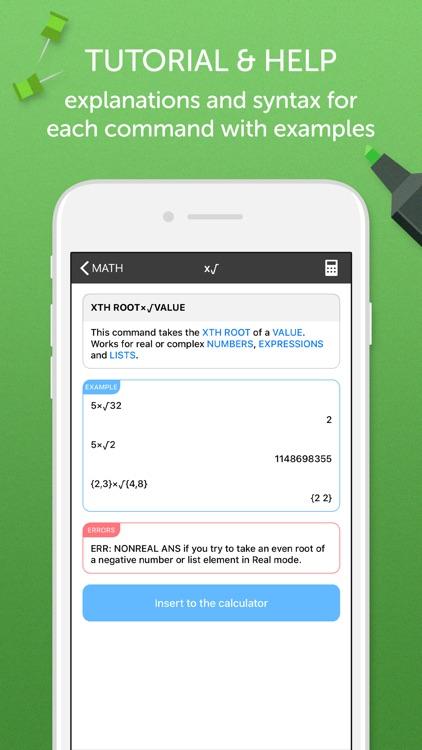 TI 84 Graphing Calculator screenshot-4