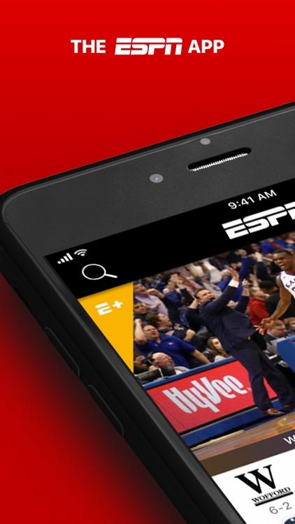 ESPN: Live Sports & Scores screenshot-0