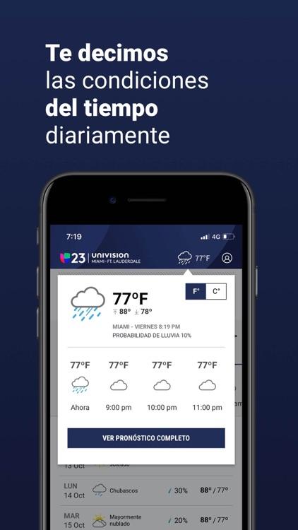 Univision 23 Miami screenshot-3