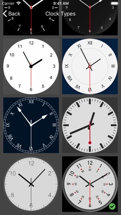 アナログ時計 - 時計ウィジェット,目覚まし時計のおすすめ画像7