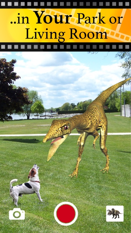 Jurassic AR Camera 3D Glasses screenshot-5