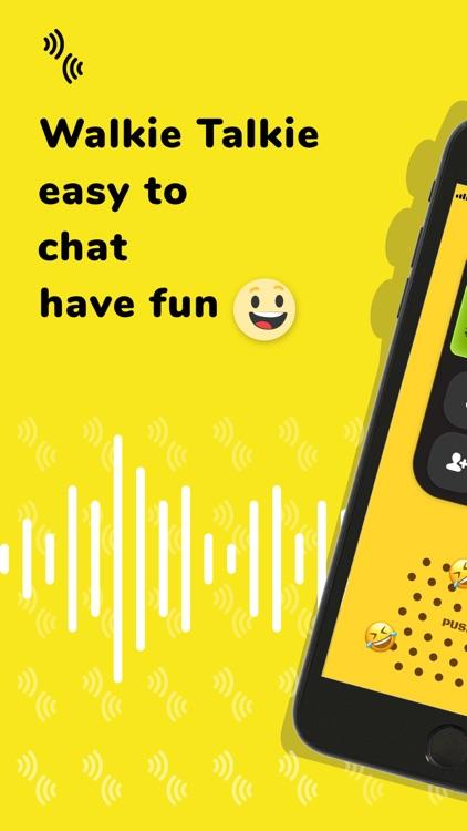 Walkie Talkie: Talk to Friends