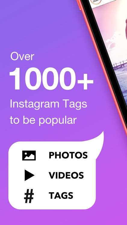 Hashtag hot tags for Instagram