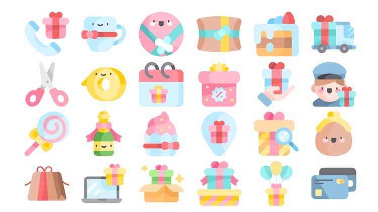 Gift Stickers.