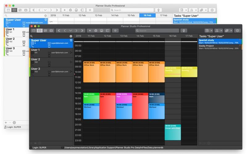 Planner Studio Multi Calendars for Mac