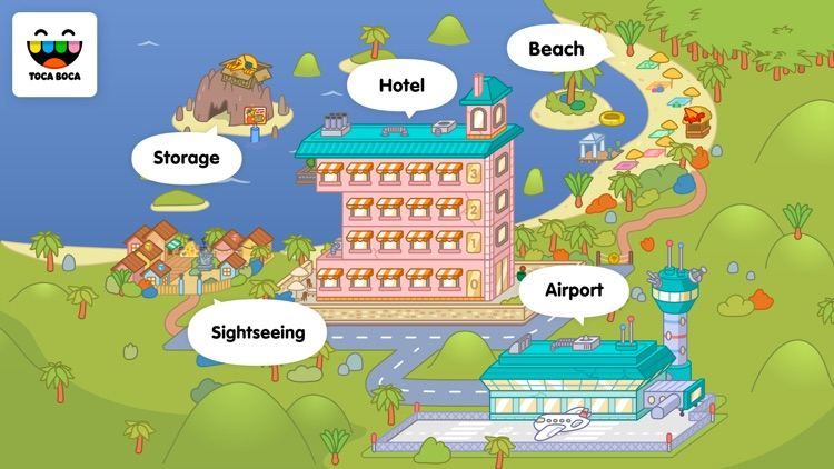 Toca Life: Vacation screenshot-4