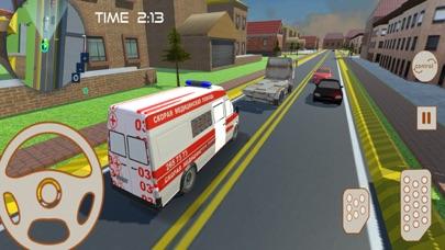 市 救急車 救援 運転のおすすめ画像5