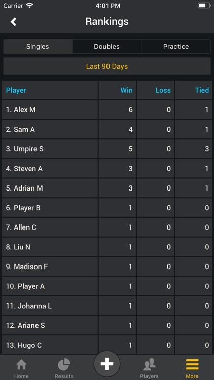 Smashpoint Tennis Tracker screenshot-8