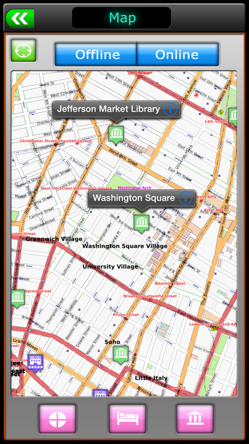New York Offline Travel Guide App 截图