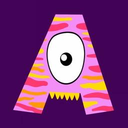 ABC - Monsters. Learn Alphabet