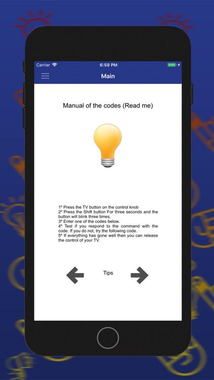 Control Code For DirecTV screenshot-3
