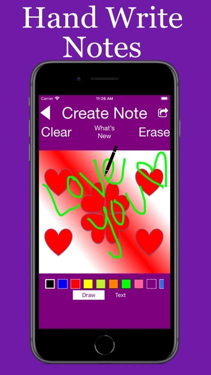 Hand Written Love Notes