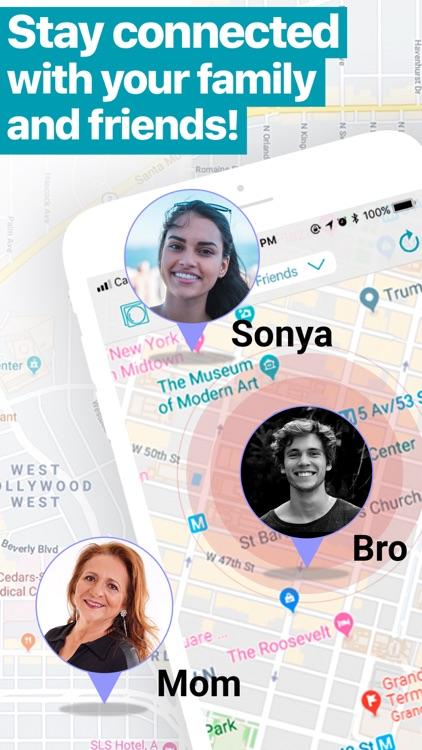 iMapp - Find my Phone, Friends screenshot-0