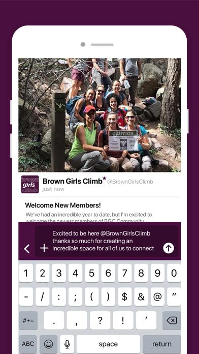 Brown Girls Climb Screenshot