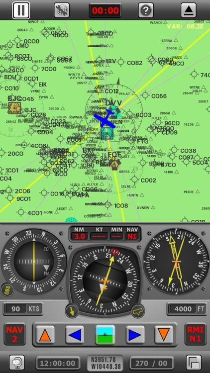 Radio Navigation Simulator USA screenshot-0
