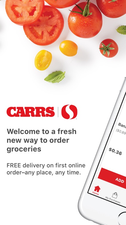 Carrs Delivery & Pick Up screenshot-0