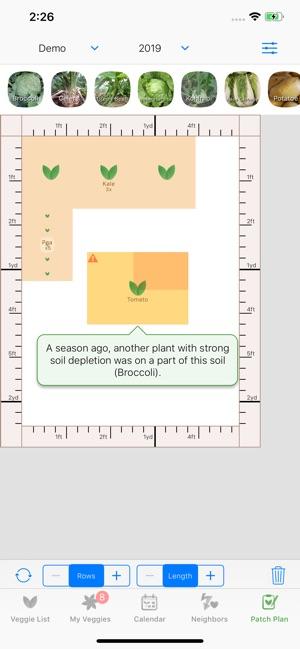 Veggie Garden Planner On The App Store