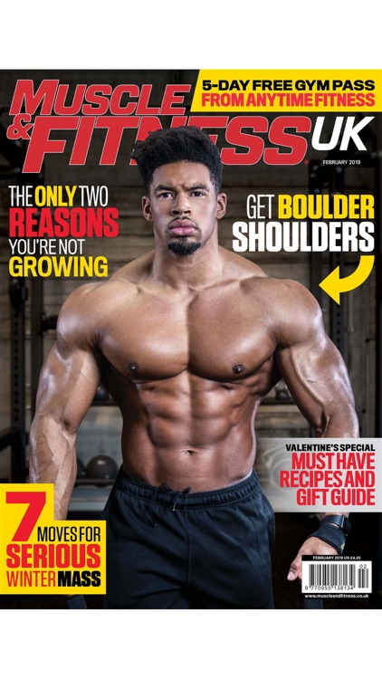 Muscle & Fitness UK Magazine