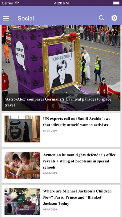 Yerepouni News app image