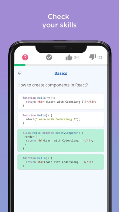Coderslang: Learn programming Screenshot